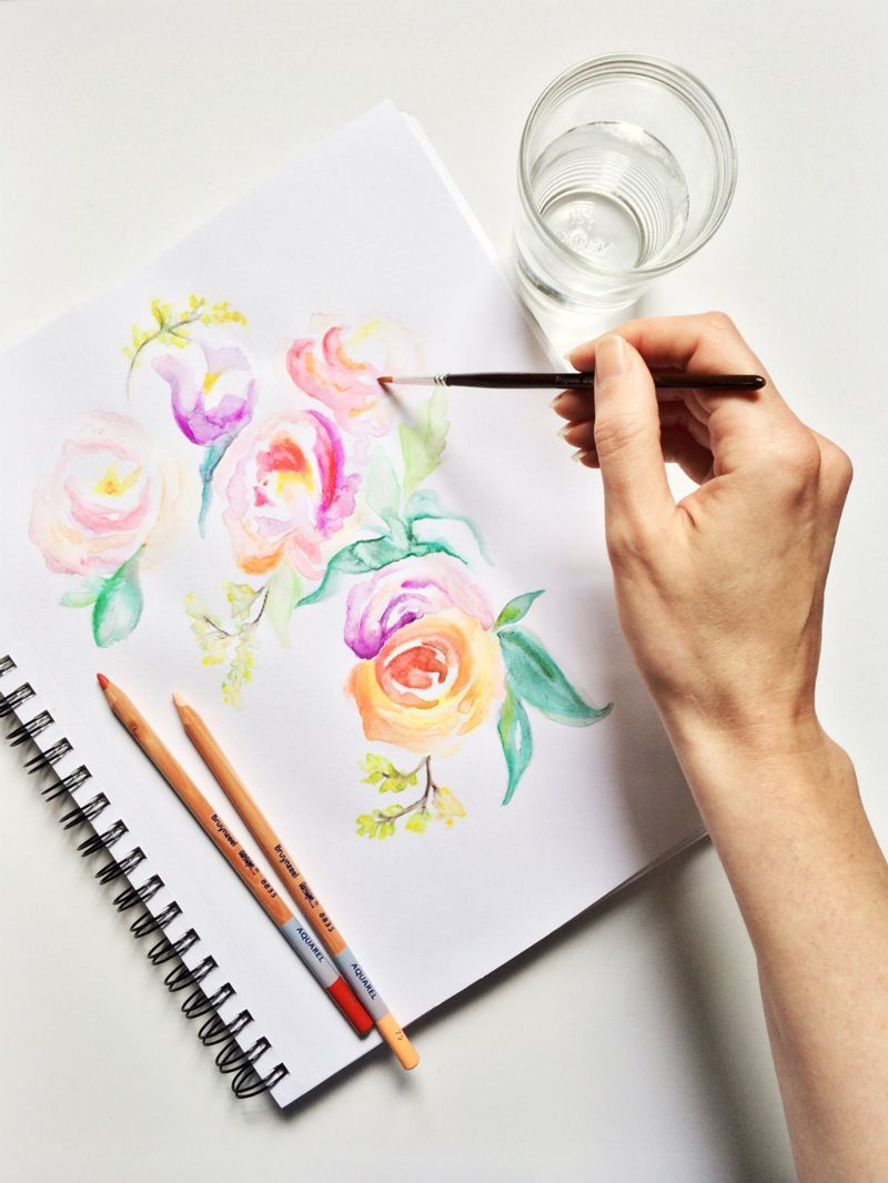 Lifeinfive01 Wasserfarben Stifte Aquarell Stifte Aquarell