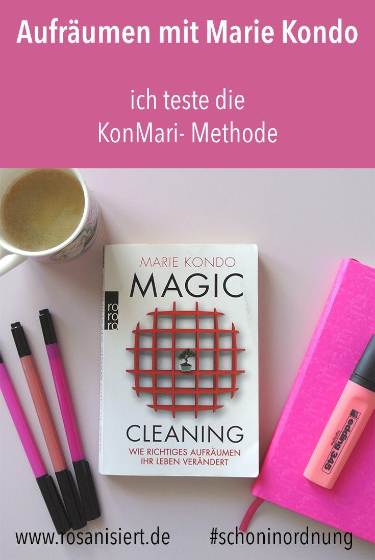 aufr umen mit marie kondo ich teste die konmari magic cleaning methode fettlogik pinterest. Black Bedroom Furniture Sets. Home Design Ideas