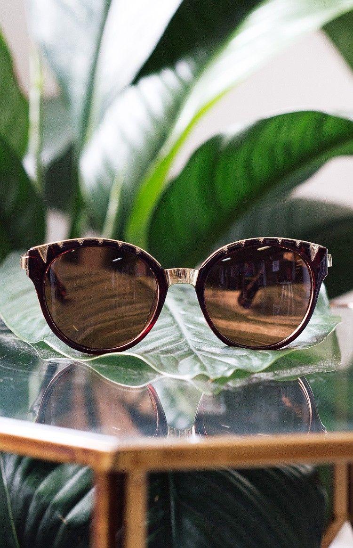 La Lune Jagger Sunglasses Brown