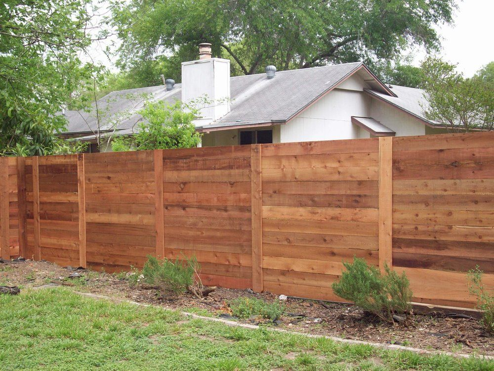 Modern Horizontal Fencing In Austin Is Catching On Fast