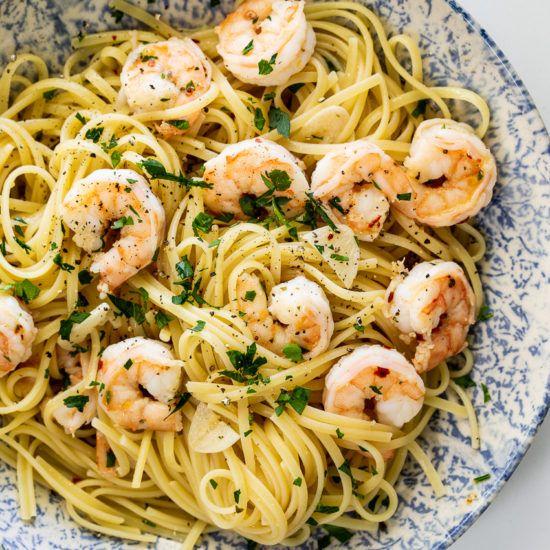 Easy Shrimp Knoblauch und Öl – einfach köstlich  – Recipes to Cook