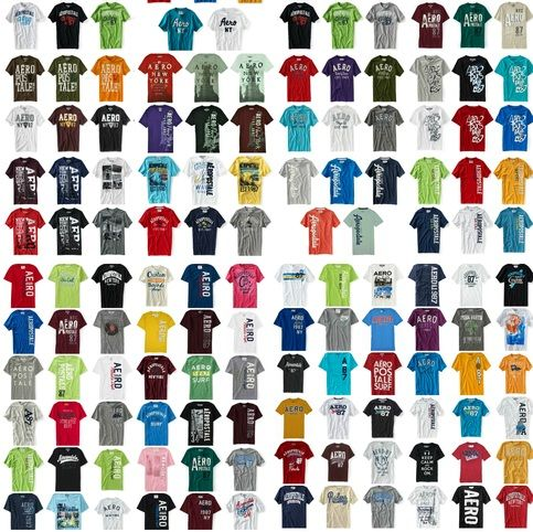 25 New With Tags Aeropostale Womens Graphic T Shirts  You Can Select Sizing From  Extra Small, Small, Medium, Large, Extra Large, & Extra Extra Large (2XL) XXL!  If you like/dislike certain colors please send a wide variety so we can best meet your needs.  Due to overwhelming demand we CA...