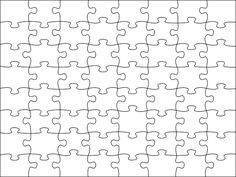 photograph regarding Printable Jigsaw Puzzle Maker referred to as Picture issue for -Blank Jigsaw Puzzle Template Free of charge