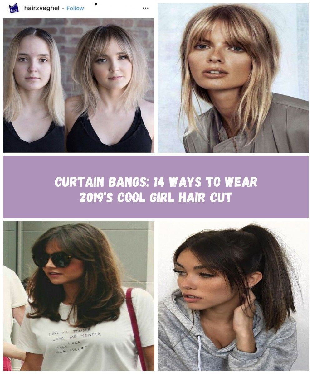 Curtain Bangs: 14 Ways to Wear 2019's Cool Girl Hair Cut - Hair Cutting - Modern Salon #hair bangs Curtain Bangs: 14 Ways to Wear 2019's Cool Girl Hair Cut #curtainbangs Curtain Bangs: 14 Ways to Wear 2019's Cool Girl Hair Cut - Hair Cutting - Modern Salon #hair bangs Curtain Bangs: 14 Ways to Wear 2019's Cool Girl Hair Cut #curtainbangs