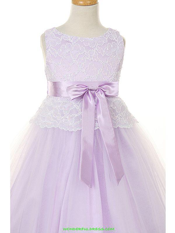548e9b5d578 Lavender Flower Girl Dresses