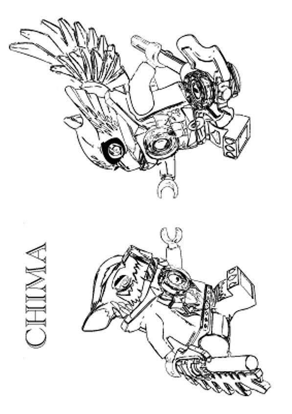 coloring page Lego Chima - lego chima Cragger vs Eris Bake It - copy coloring pages lego minifigures