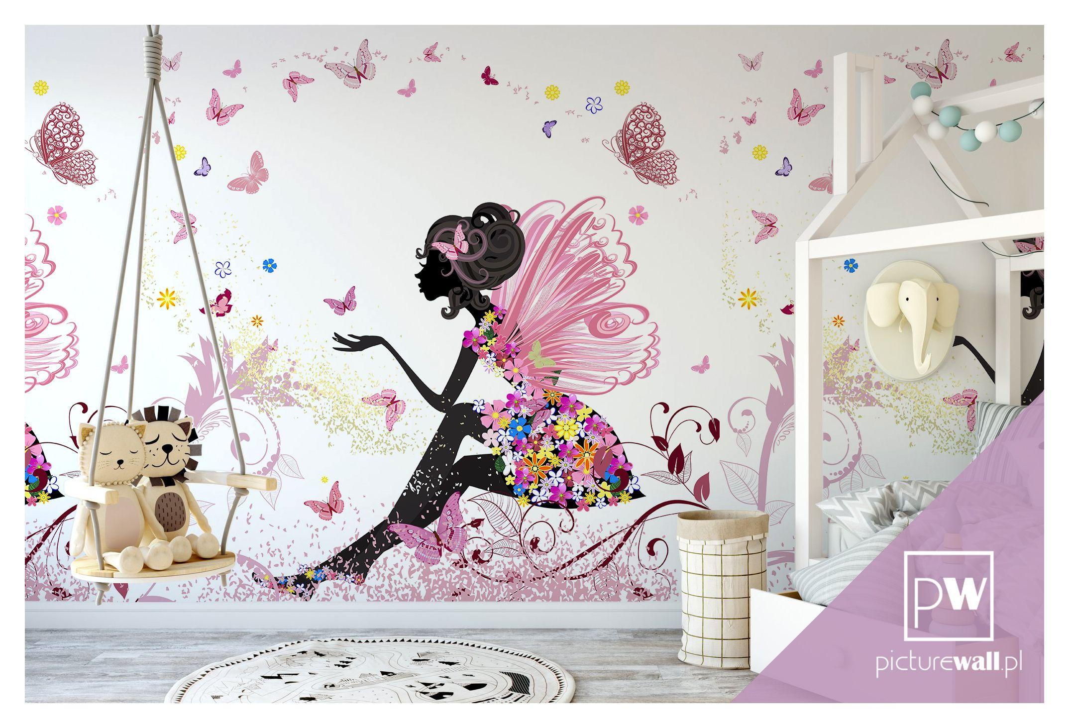 Fototapety Dla Dziewczynki Girls Bedroom Home Decor Decals Flower Fairy