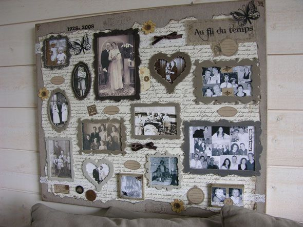 scrapbooking canvas g ant canvas scrap cot heritage scrapbooking point de croix. Black Bedroom Furniture Sets. Home Design Ideas