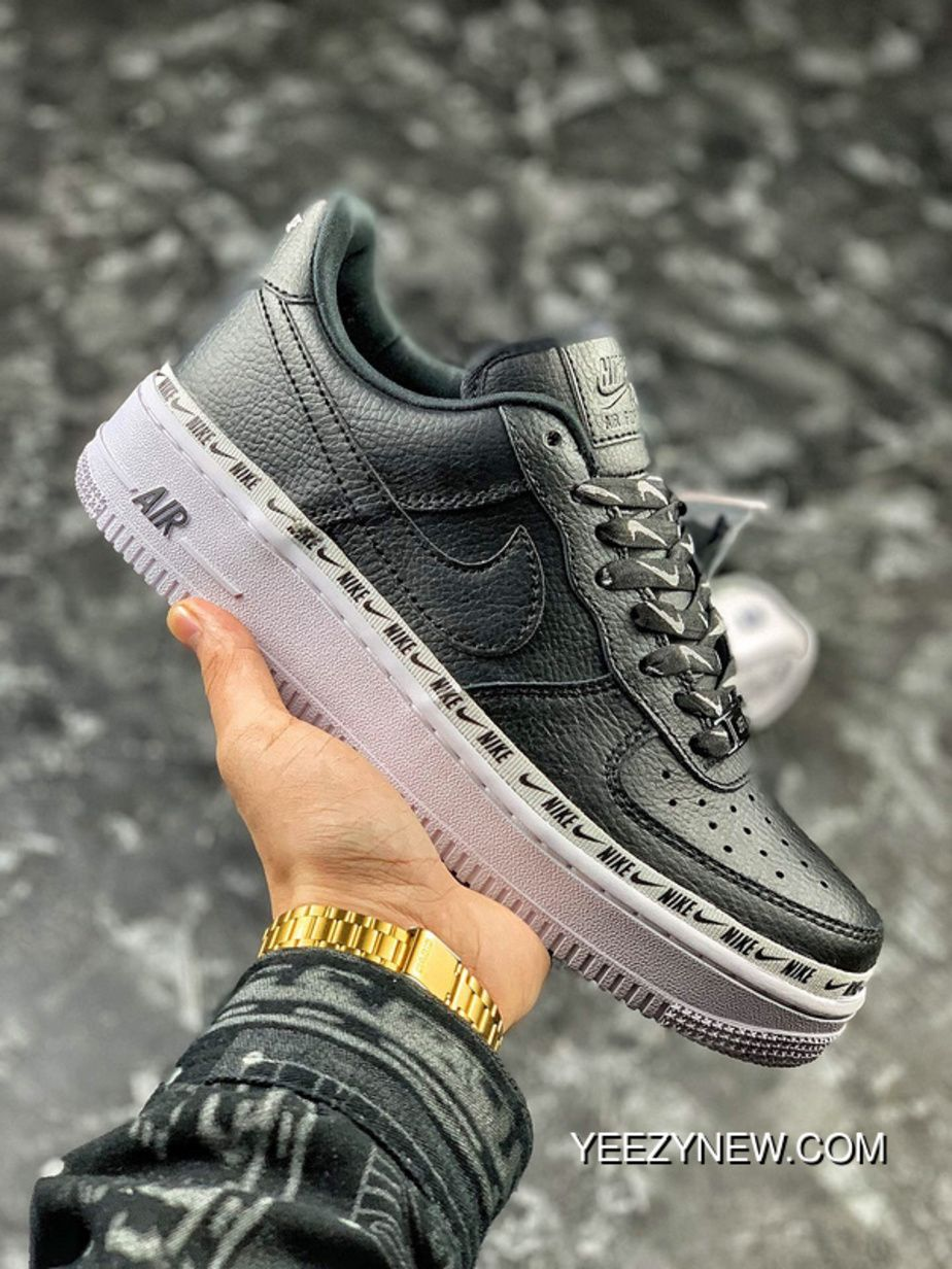 Nike Air Force 1 '07 SE Premium BlackWhite AH6827 002