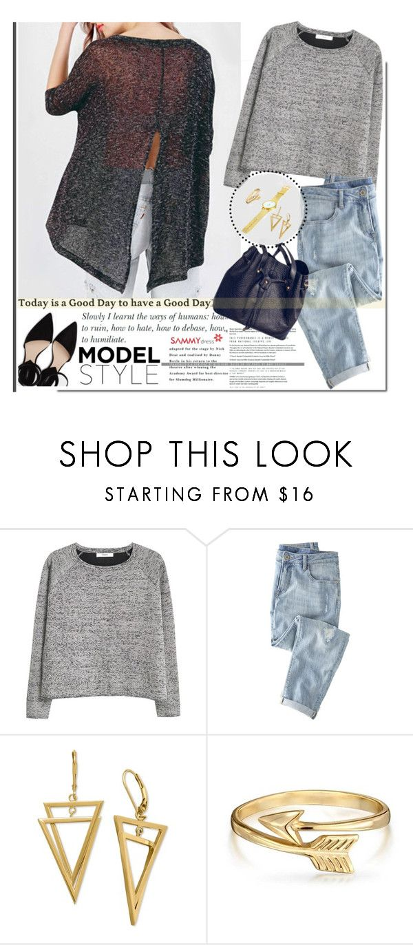 """""""Sammy dress 3"""" by sinsnottragedies ❤ liked on Polyvore featuring MANGO, Wrap, Bling Jewelry, women's clothing, women, female, woman, misses and juniors"""
