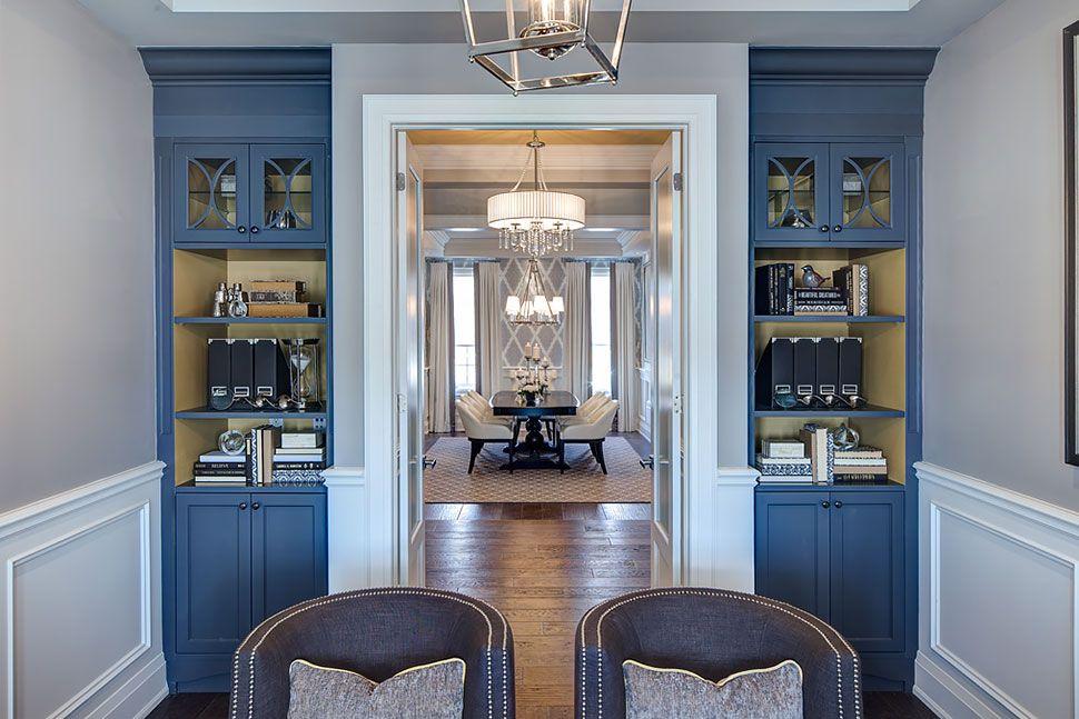 Copperwood kleinberg model home designed by jane lockhart interior design for the sorbara group of companies