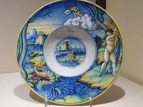 Perseus Rescuing Andromeda Maiolica Castel Durante About 1525 30 Ce Urbino Majolica Metropolitan Museum Of Art
