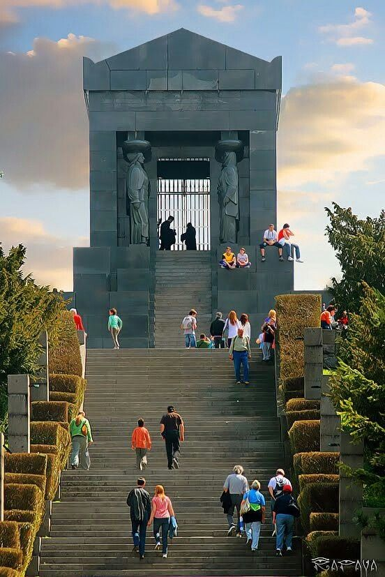 Beograd Srbija Avala Spomenik Neznanom Junaku Belgrade Serbia