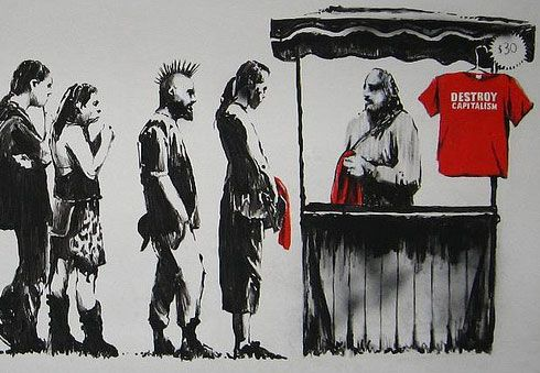 Capitalism by Banksy