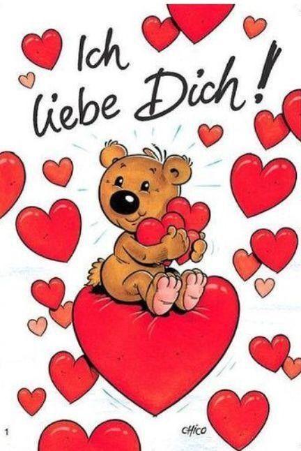 Открытки для любимого на немецком языке, открытку папе