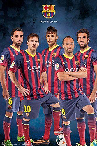 81dfed288 FC Barcelona 13-14 poster