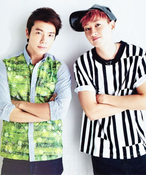 Donghae and Eunhyuk from Super Junior <3