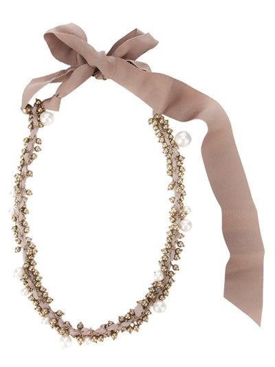 LANVIN 'Strand' Beaded Necklace