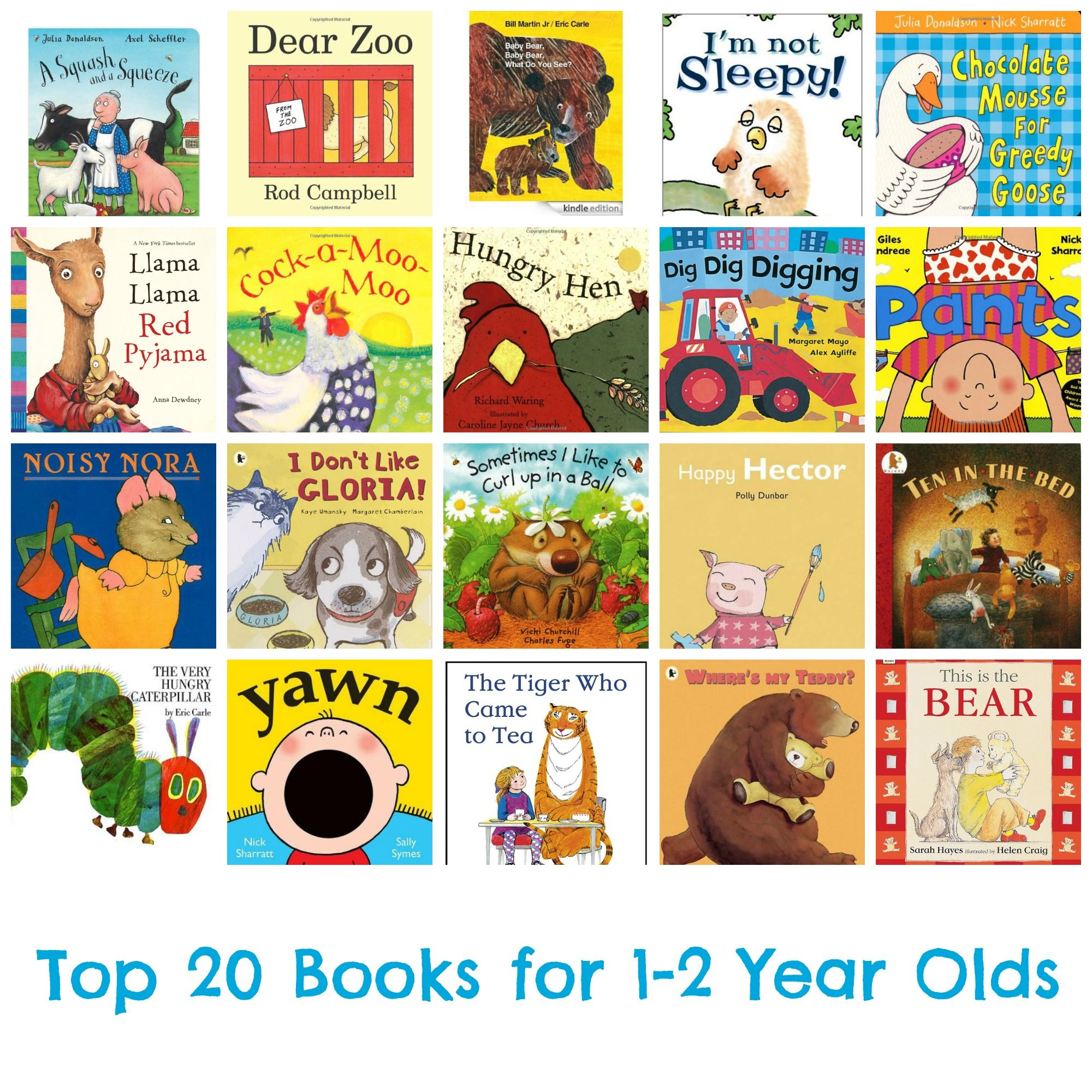 Top 20 Books For 1 2 Year Olds Bedtime Books Toddlers Tinies