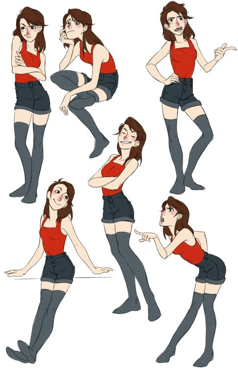 The Actual Professional Blog Of Sofi Alexander An Old Assignment For Character Posing I Still Character Poses Art Reference Poses Character Design Inspiration