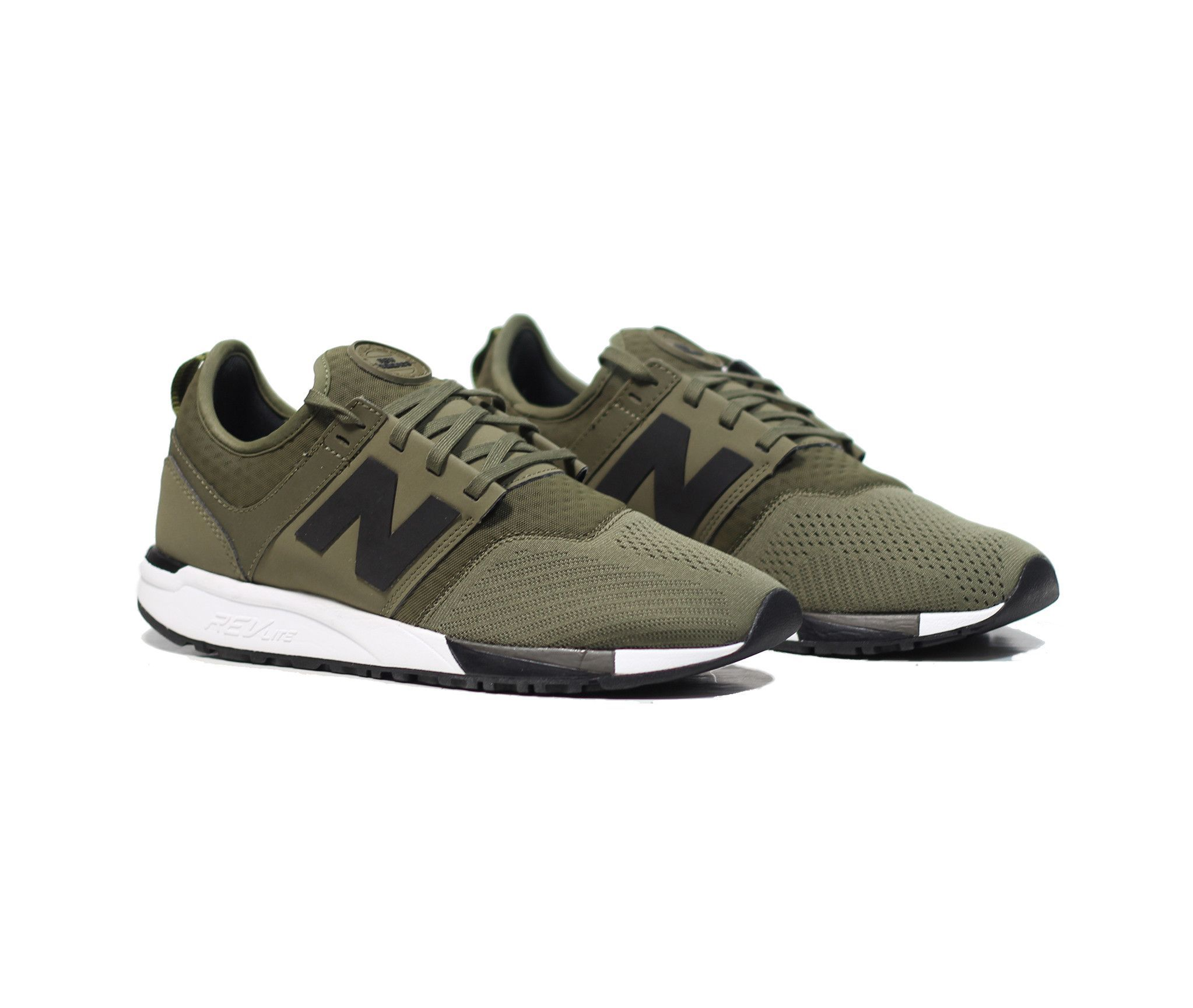 New Balance 247 OliveBlack | SHΩES | Shoes, New balance