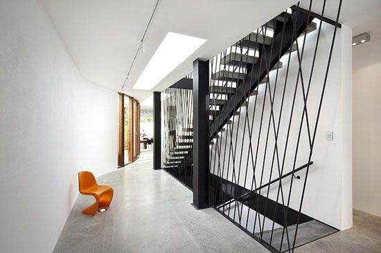 Prahran House Interior Stair Railings