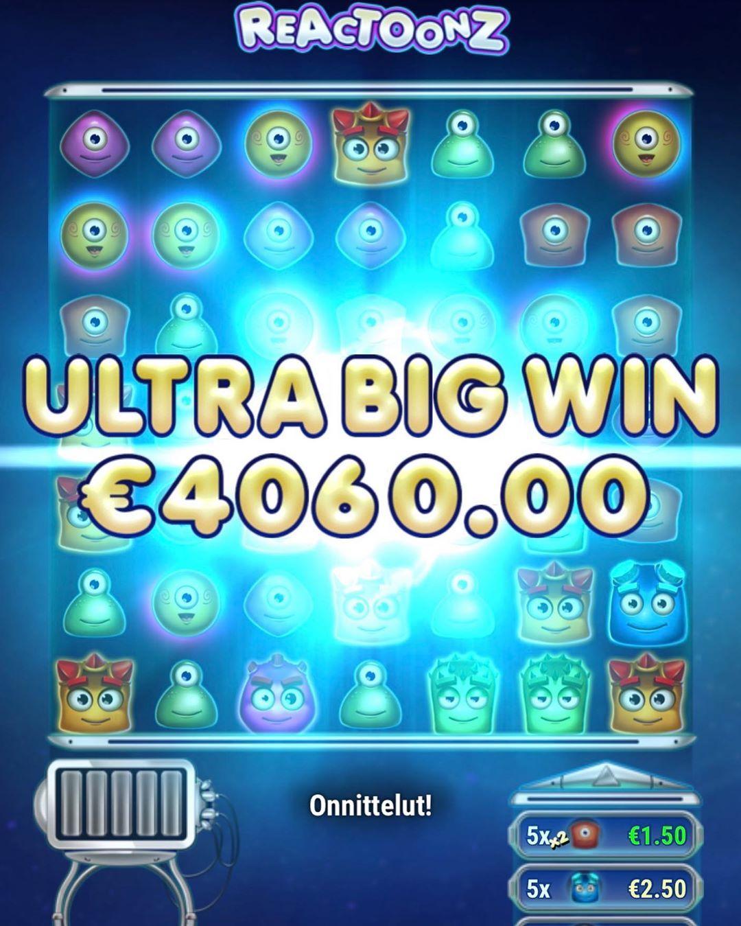 coinmaster Reactoons win!! casino