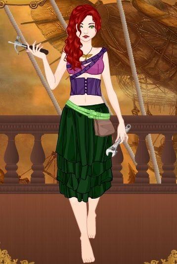 Steampunk Ariel by Rachel [©2014 PinkiePieTheWhovian]