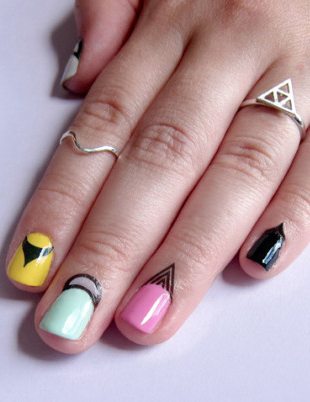 Latest Trend in Nail Art: Cuticle Tattoos | Nail Art | Cuticle ...