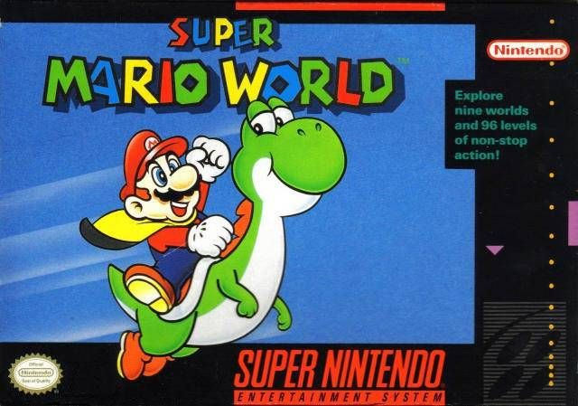 The Game That Sold The Snes Super Mario World Review Super Mario World Game Super Mario World Super Nintendo