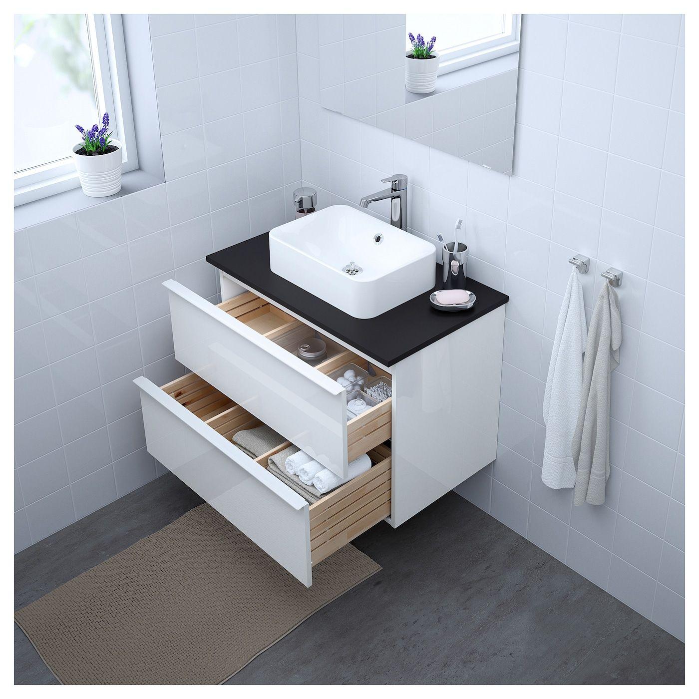 Möbel & Einrichtungsideen für dein Zuhause mit Bildern   Waschbeckenschrank, Badezimmer ...