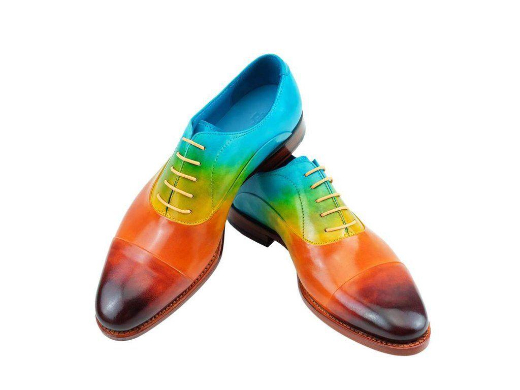 rainbow men shoes