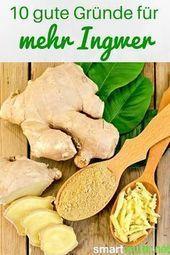 Ingwer ist eine unglaublich vielseitige Knolle. Sie ist nicht nur eine tolle ...   - Health and Fitn...