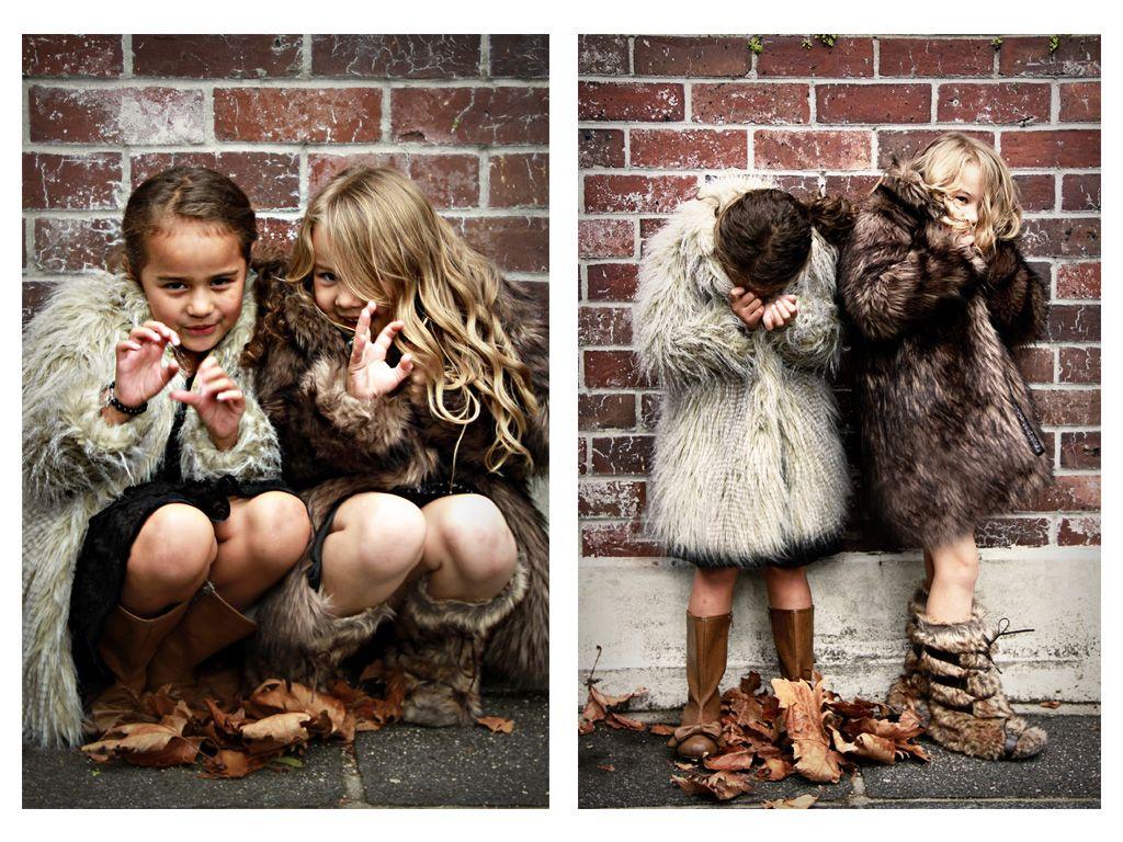 girls faux fur coats Girls faux fur coat, Girls faux fur