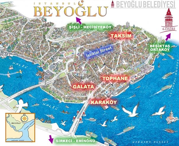 cool Map of istanbul Travelquaz Pinterest Park and City