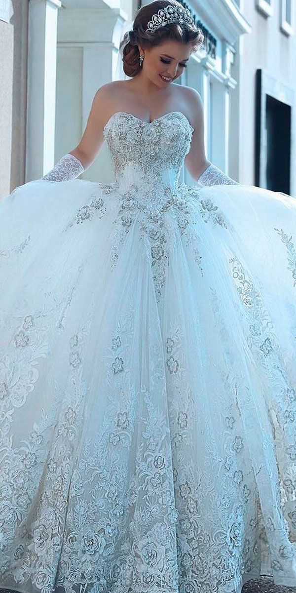 21 Princess Wedding Dresses For Fairy Tale Celebration | Princess ...