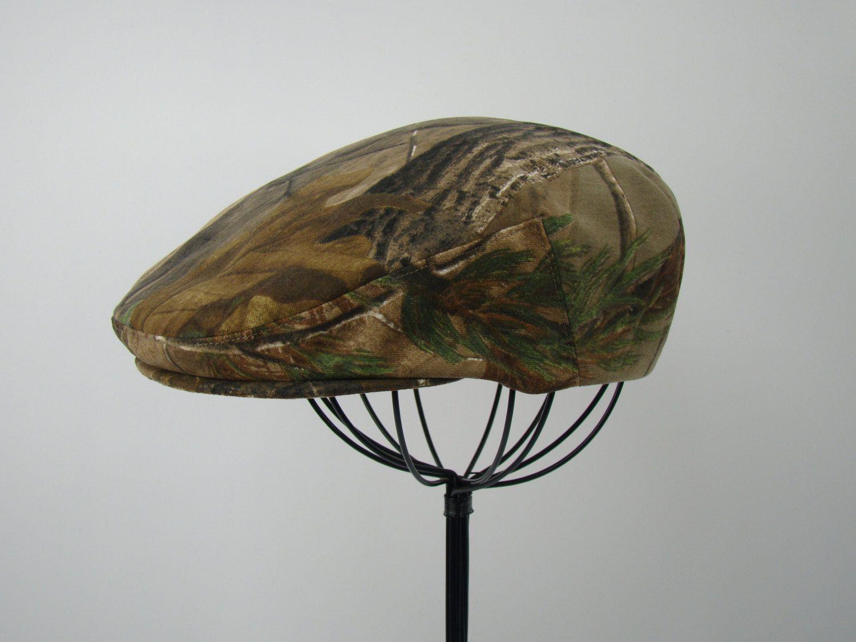 RealTree Camouflage Flat Jeff Cap 0484fb7baa5d