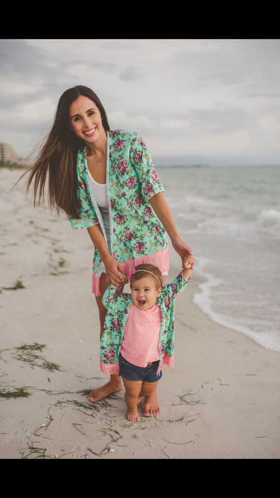 b689a15c2f Mom and baby matching kimonos Mommy and baby by BabyUnlimited | Sage ...
