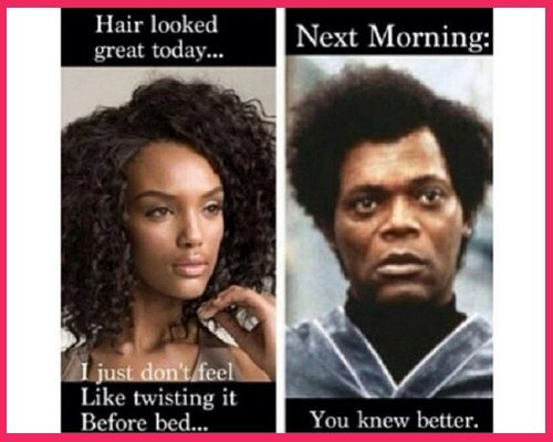 55acff53891fde86174b69f6f53a2291 20 of the best black hair memes hair journey, black hair and laughter