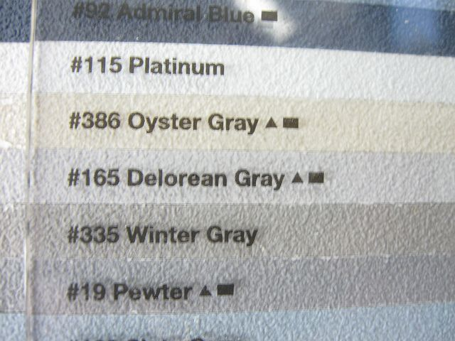 The Picture Of Delorean Gray Grout In 2019 Grout Grey