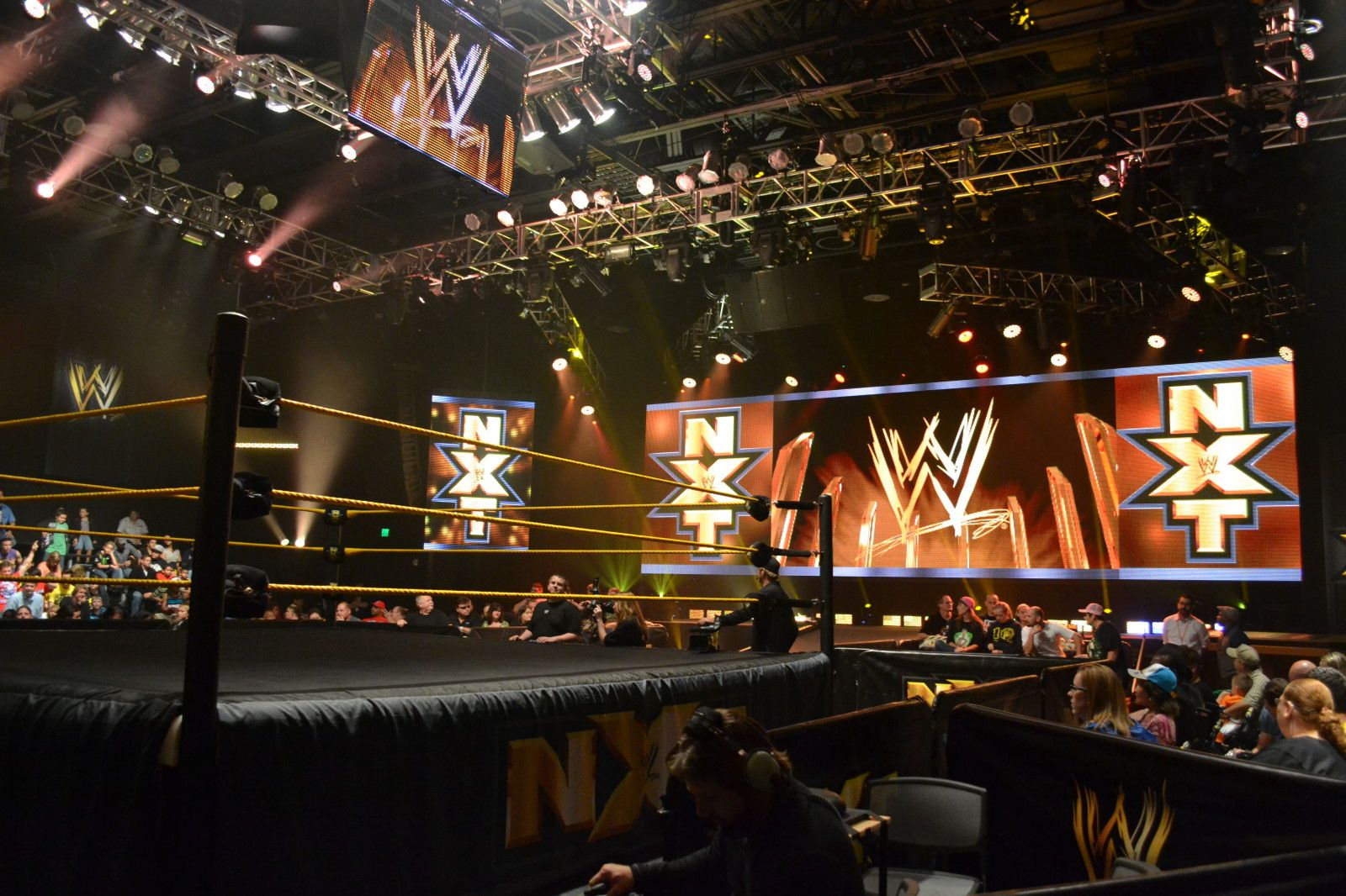 Wwe Nxt Seating Options At Full Sail On The Go In Mco Full Sail Wwe Full Sail University