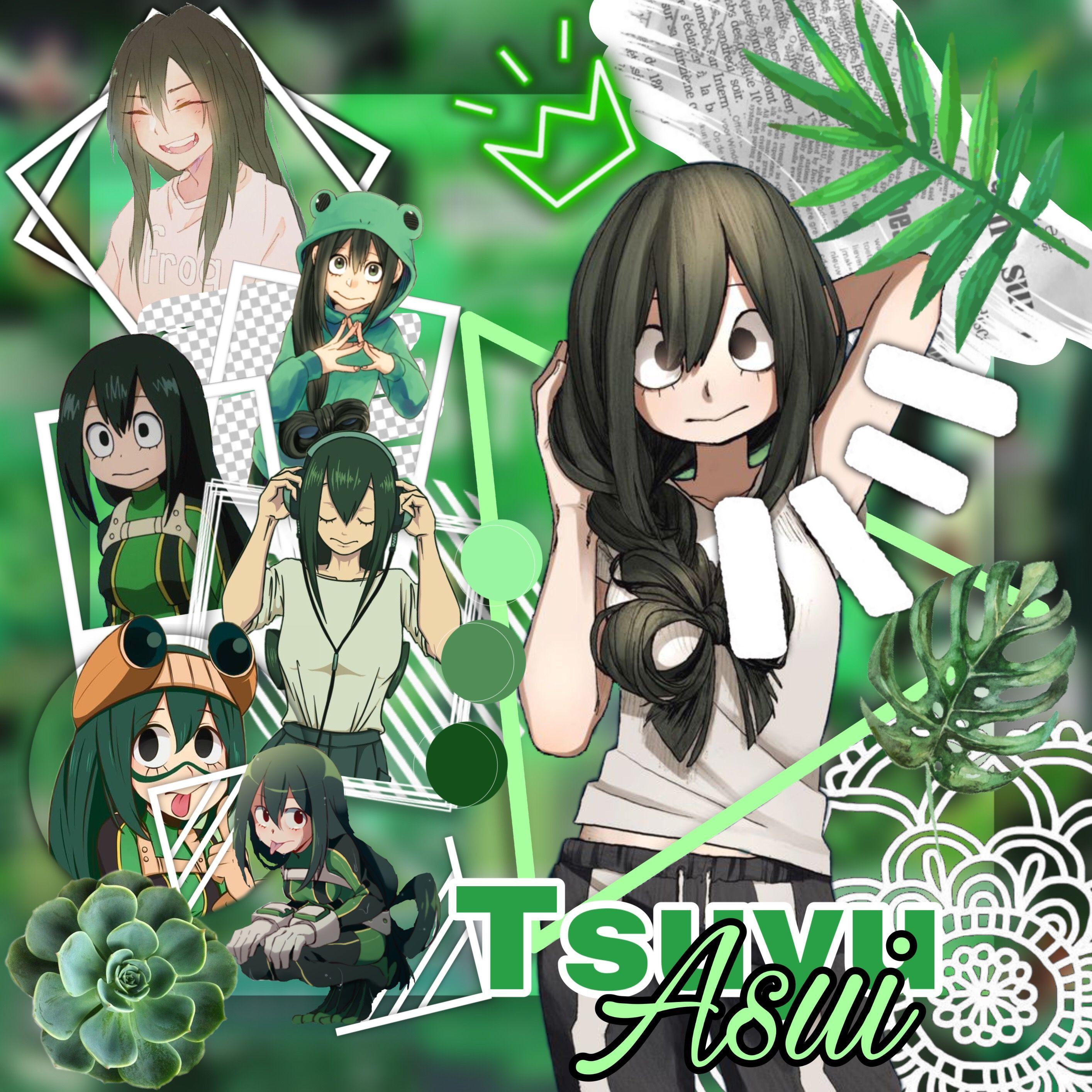 Tsu Is So Cute Notfreetoedit Myheroacademia Bokunoheroacademia Bnha Mha Tsuyuasui Tsuyu Asui Tsu Cute Anime Character Tsuyu Asui Anime Characters