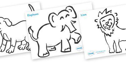 Dear Zoo Colouring Sheets Dear Zoo Dear Zoo Book Dear Zoo Party