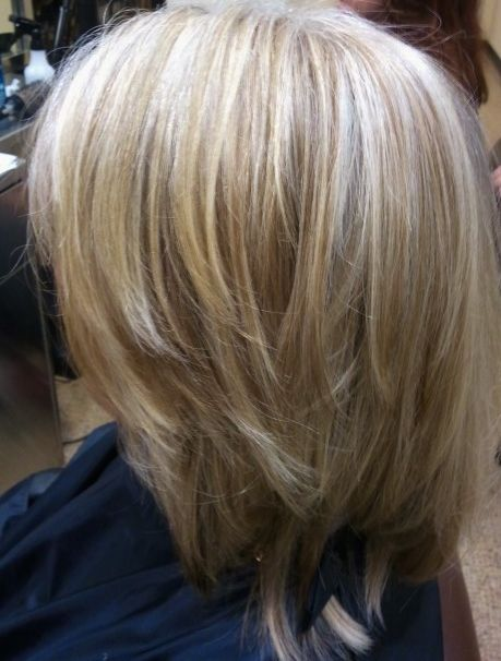 90 Gray Blended With Highlights And Lowlights Hair Highlights And Lowlights Blending Gray Hair Gray Hair Highlights