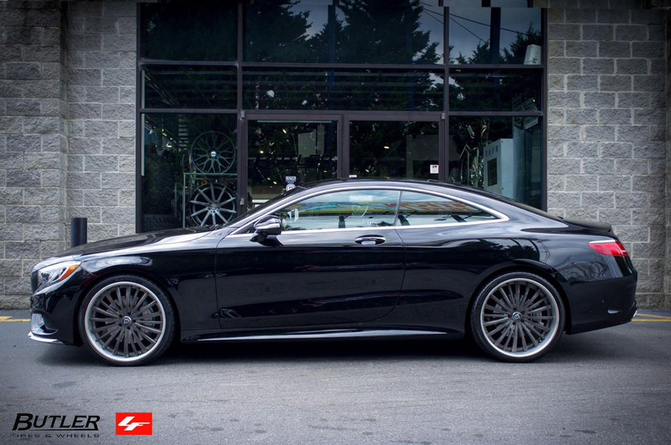 2016 mercedes s550 coupe on lf 722 custom wheels. Black Bedroom Furniture Sets. Home Design Ideas