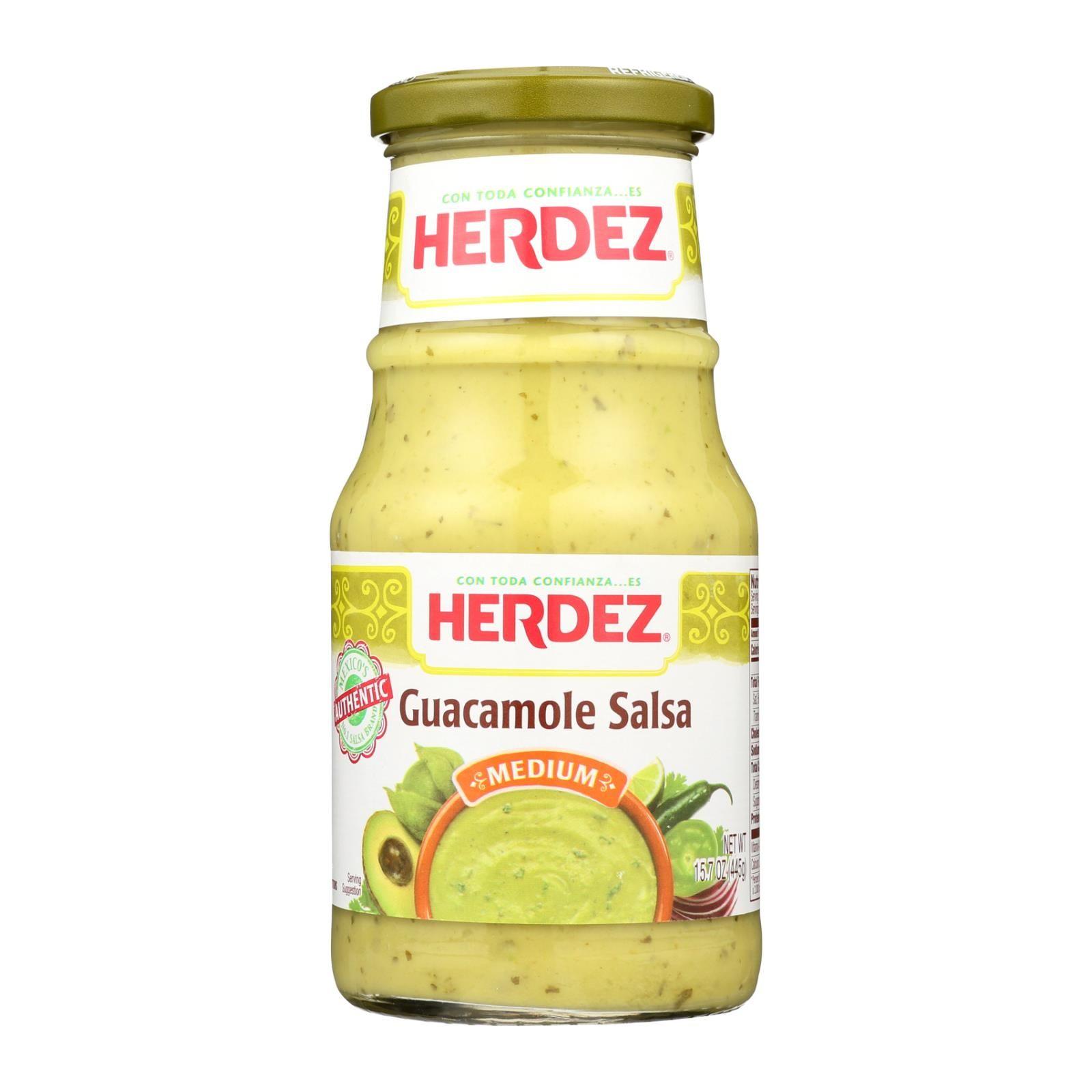 Herdez salsa guacamole case of 12 157 oz with
