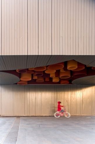 Commonwealth Place Kiosks, Canberra, Australia by Terroir