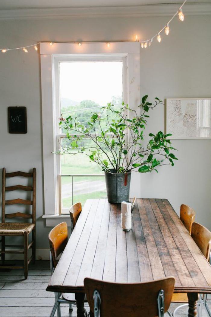 La table de salle à manger en 68 variantes House