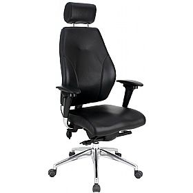 Itask 24 7 Executive Top Leather Posture Chairs Www