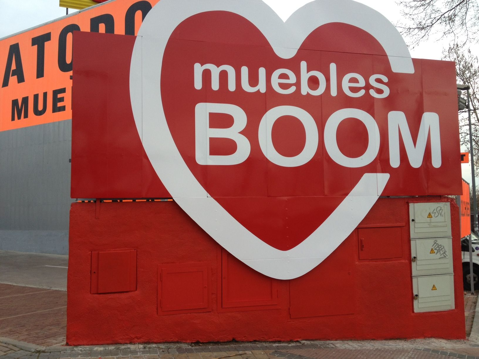 muebles BOOM Alcorcon (Madrid) - C  Luxemburgo 9 junto Worten (P.C. Parque  Oeste) - Tienda Online  www.mueblesboom.com 36bc9036a8abe
